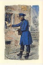 AK: Thurn und Taxis, Briefträger, 1847