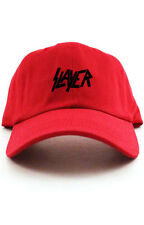 Slayer Custom Red Black Unstructured Baseball Dad Hat Cap New