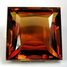 NATURAL MADEIRA CITRINE 8 MM SQUARE CUT