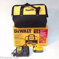 "DEWALT DCB205CK 20V MAX 5.0Ah Li-Ion Battery Charger 15"" Bag Cordless Kit DCB205"