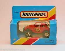 Matchbox Superfast MB 49 VW Cox Sand Digger  Neuf/Boîte American Editions (#T5D)