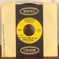 """Georgie Fame Ballad of Bonnie and Clyde / Beware of the dog 7"""" 45 Epic sleeve GD"""