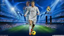 "68 Gareth Bale - Welsh Footballer Super Star MVP 25""x14"" Poster"
