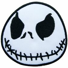 Jack Skellington Nightmare Before Christmas Movies Cartoon Iron on Patches #1072