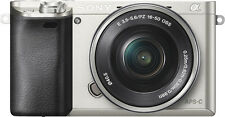 Open-Box: Alpha a6000 Mirrorless Camera with 16-50mm Retractable Lens