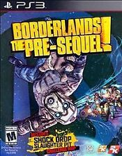 Borderlands Pre-Sequel W/ Slip Cover & Shock Drop DLC PS3 ****Brand New****