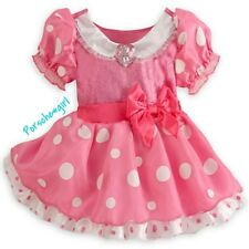 DISNEY MINNIE MOUSE COSTUME PRINCESS DRESS GOWN SIZE 12-18 MONTHS