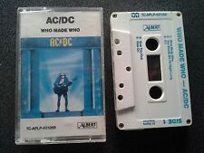ACDC AC/DC WHO MADE WHO CASSETTE TAPE