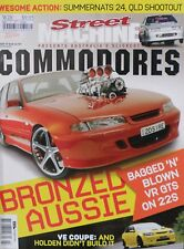 Street Machine Australia's Slickest Commodores Magazine Issue 37