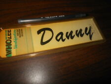 NOS Whozee Helmet Cowl Name Decal Danny