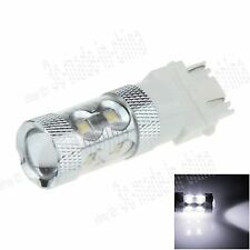 1X White 3156 3157 10 CREE XBD R3 SMD LED 50W Light Brake Bulb Lamp F010