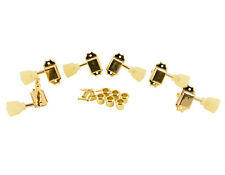 Kluson Traditional 3x3 Pearloid Single Ring, Single Line Gold SD90SLG NEW