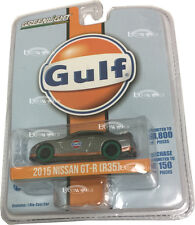 GREENLIGHT MACHINE MACHINE 1:64 SCALE NISSAN GT-R (R35) GULF RACING