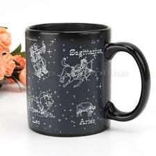 Hot Cold Temperature Heat Sensitive Color Changing Star Constellation Mug Cup