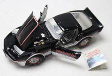 THE FRANKLIN MINT 1:24 Black 1978 Corvette Indy 500 Pace Car