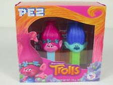 Pez Trolls Poppy And Branch DreamWorks Gift Set Stocking Stuffer NIP
