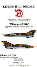 Linden Hill Decals 1/72 MILLENNIUM MiGs Upgraded Late Service MiG-21 Single Seat