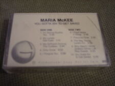 SEALED RARE PROMO Maria McKee CASSETTE TAPE You Gotta Sin To Get Saved JAYHAWKS