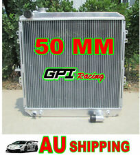 50MM aluminum radiator toyota HILUX LN106 LN111 Diesel 88-98 AT/MT 89 90