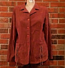 Womens Studio C Size 10 Ladies Coat Jacket Brown Western Apparel Fashion USAMade