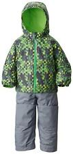 NWT COLUMBIA FROSTY SLOPE SNOW SET,  BOYS GREEN MAMBO SNOWSUIT 3T