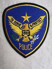 "Police Patch - 4"" x 4 5/8"""