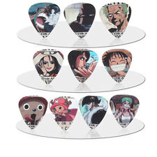 10pcs 1.0mm Japanese Anime One Piece Guitar picks Plectrums Printed Both Sides