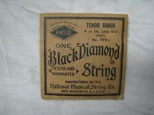 New BLACK DIAMOND TENOR BANJO STRING with PACKAGE