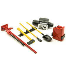 1/10 Scale RC Rock Crawler Accessory Tool Set For D90 D110 SCX10 Wraith Red