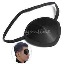 Concave Eye Patch Foam Groove Adjustable Strap Washable Eyeshades Medical Use