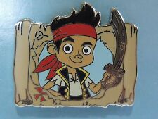 New 2011 Disney Junior Booster Trading Pin Jake and the Neverland Pirates Map DR