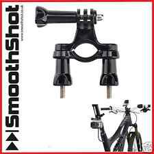 MOTORCYCLE BIKE BICYCLE HANDLEBAR SEAT POST MOUNT GOPRO HERO 2 3 3+ 4 SESSION