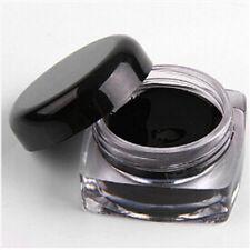 New Pro Waterproof Eye Liner Eyeliner Shadow Gel Makeup Cosmetic+Brush Black B1