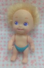 Vintage Tyco Playful Quints Doll Number 2 Baby Blonde Moves Arm Lever