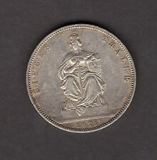 Germany Prussia 1871 A 1 Thaler Silver Coin - Nice Coin!