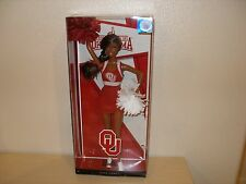 2012 BARBIE COLLECTOR UNIVERSITY OF OKLAHOMA AFRICAN-AMERICAN DOLL