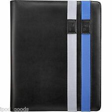 Rocketfish MY WAY Black Leatherlike Folio Case Stand for iPad 4G 3G 2G & Fits 5G