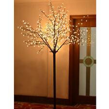 7.9ft Christmas Light Tree 600 LED Cherry Blossom Flower Tree Light Decoration
