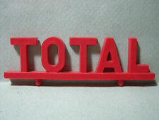 """ENSEIGNE  """" TOTAL """"  POUR  GARAGE  STATION  SERVICE  DEPREUX   VROOM  1/43"""