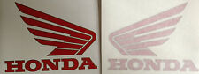 "HONDA RC30 VFR750R RED TANK ""WINGS"" X 2"