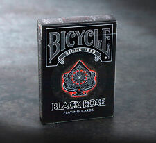 CARTE DA GIOCO BICYCLE BLACK ROSE,poker size