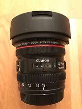 Canon EF 8-15 mm F/4.0 L Fisheye USM Objektiv