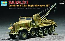 Trumpeter 1:72 - Sd.Kfz.9/1 Famo 18T with crane (Late)