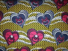 African Engagement Ring Print Fabric new BY 1/2 YD Africa fancy wax ethnic p504