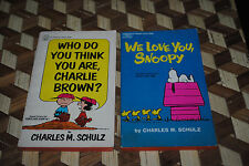 Vintage Peanuts Books We Love Snoopy Who Do You Think You Are Charlie Brown 1961