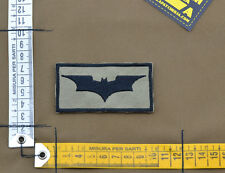 """Ricamata / Embroidered Patch """"Batman"""" Coyote Tan with VELCRO® brand hook"""