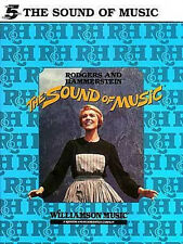 THE SOUND OF MUSIC : RODGERS AND HAMMERSTEIN - EARLY ELEMENTARY PIANO BOOK!