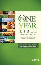 The One Year Bible Illustrated NIV (2014, Hardcover)