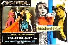 BLOW UP Italian fotobusta photobusta movie poster 1 MICHELANGELO ANTONIONI
