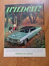 1963 Buick Wildcat Ad Anatomy of a Wildcat!